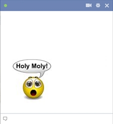 Holy Moly Facebook Smiley