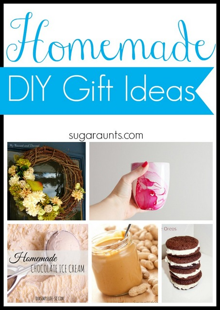 Homemade DIY Gift Ideas