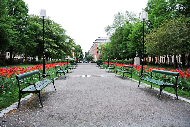 A nice park in Stockholm