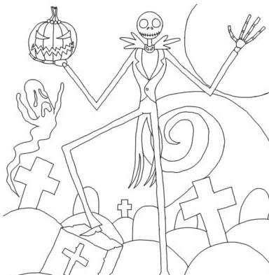 dibujos colorear Halloween