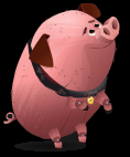 Stardoll Free Book of Life Chui Piggy