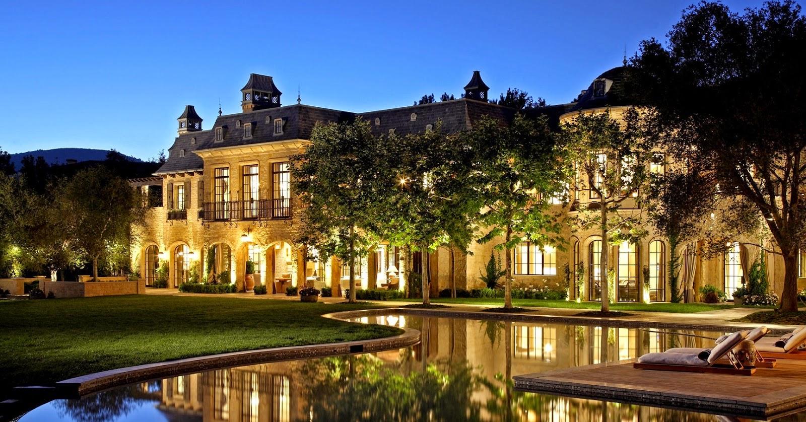 Mira las casa de los mejores futbolistas taringa for Mansiones lujosas modernas