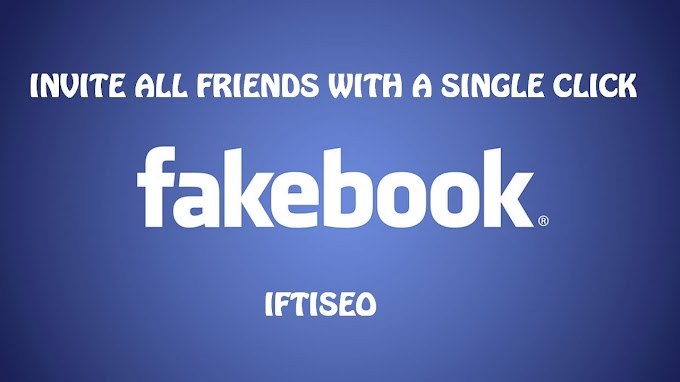 Code to Invite All Facebook Friends to a page or an event With A Single Click 2014