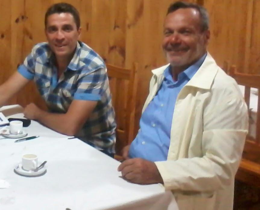 Cesar Lopez y Mariano Arnal