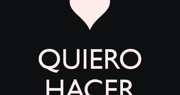 Hacer el amor contigo