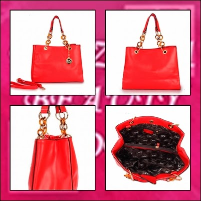 RS1882 MK RING HANDLE HANDBAG