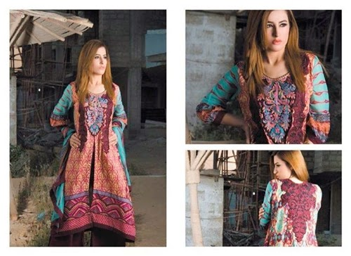 Umaimahs Lawn Collection 2014