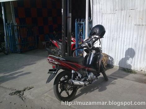 Masalah peralihan dari motor bebek ke motor batangan