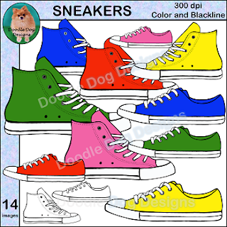 https://www.teacherspayteachers.com/Product/SNEAKERS-CLIP-ART-2200451