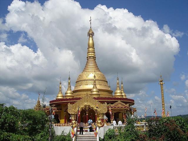 Tourist spots of Bangladesh,(Golden Temple, Bandorban)