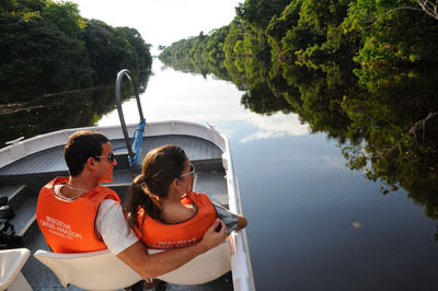 Las escursiones fluviales en el Amazonas