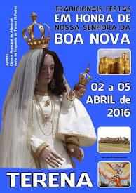 TRADICIONAIS FESTAS EM HONRA DE NOSSA SENHORA DA BOA NOVA - TERENA