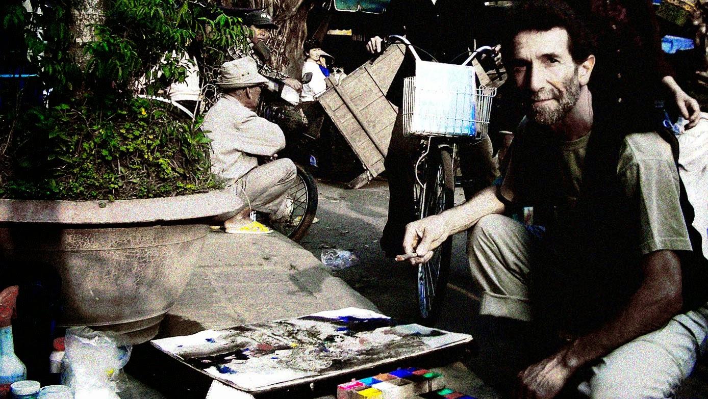 Pintando en el mercado