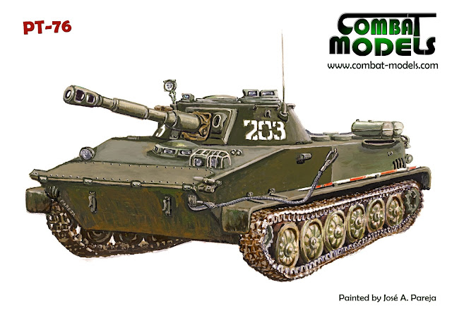PT-76 Original Illustration