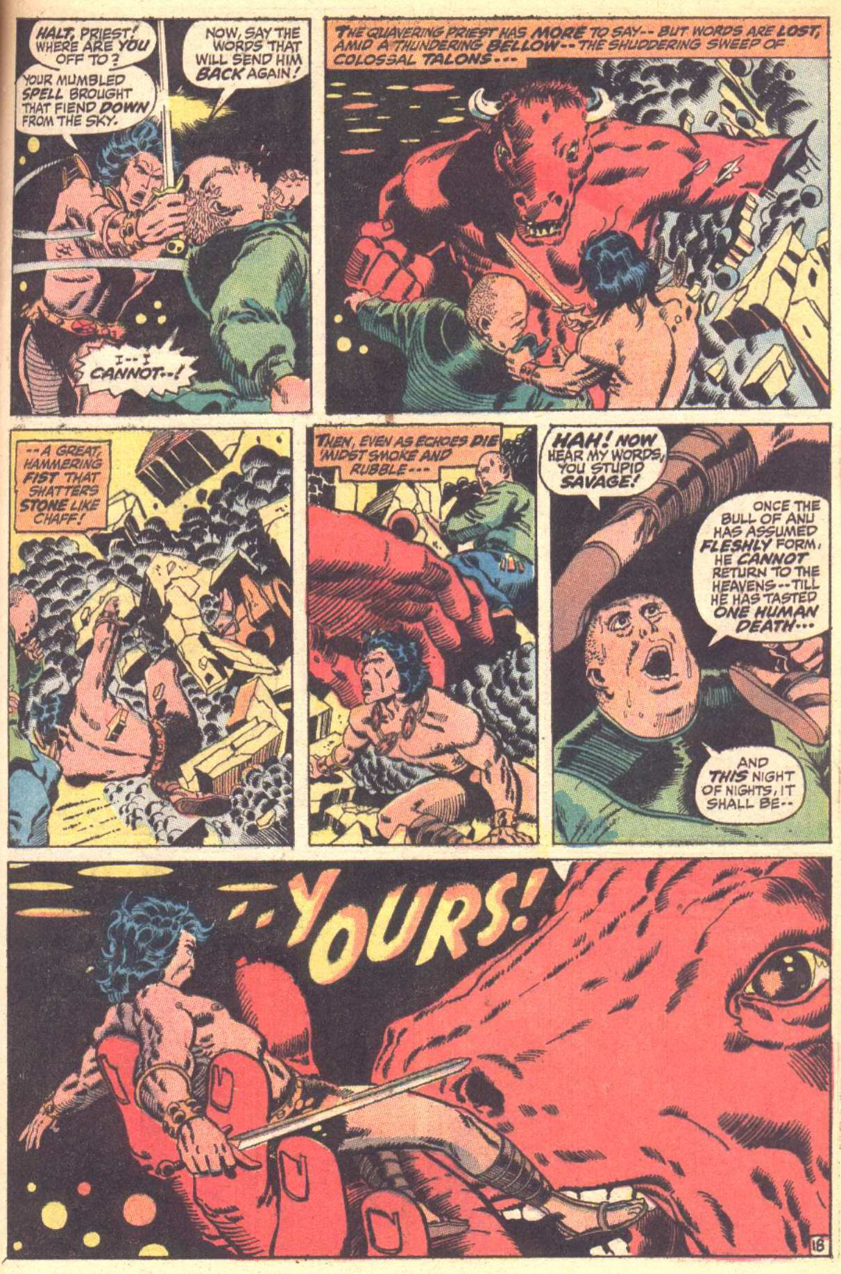 Conan the Barbarian (1970) Issue #10 #22 - English 19