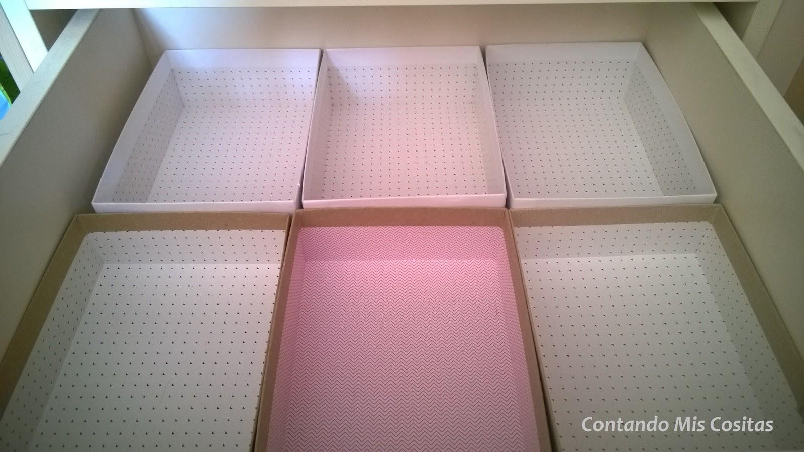 Contando mis cositas reciclando cajas de birchbox - Cajas almacenaje ropa ...