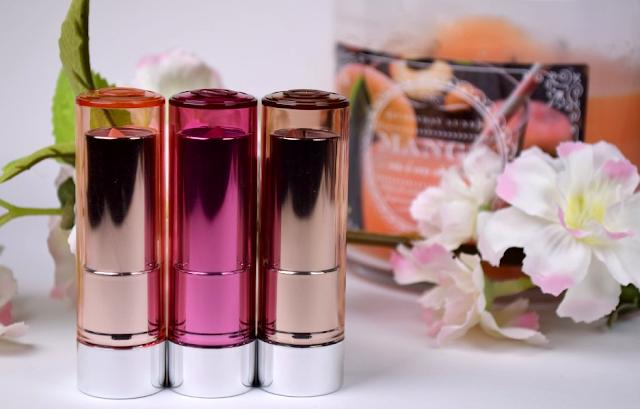 Essence Sheer & Shine Lipsticks Review
