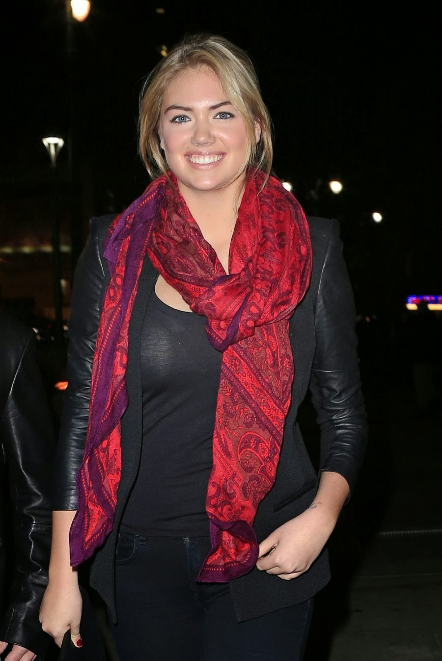 Kate Upton after Basketball Game Photos at Madison Square Garden