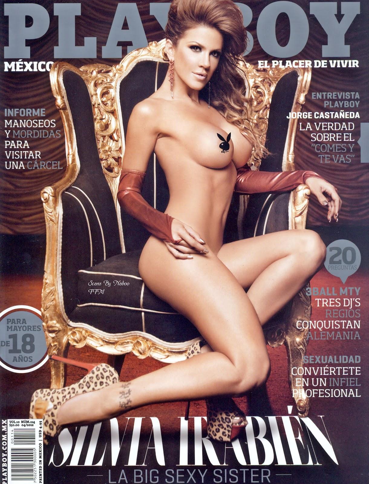 Fotos De Silvia Irabien La Chiva En Revista Playboy Abril