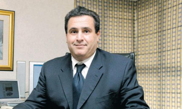 M. Akhannouch, ministre de l'Économie et des finances par intérim
