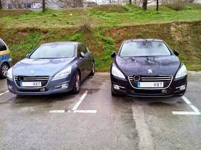 Peugeot con radar movil