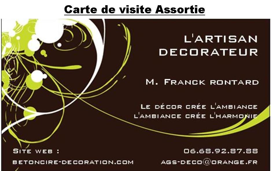 Voila Des Exemples De Cartes Visites Presentees Par SJIB Imprimerie