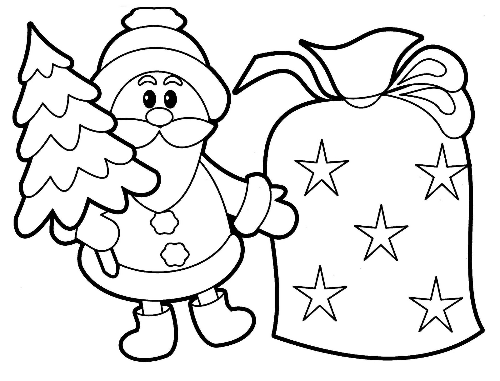 christmas coloring pages for babies 62