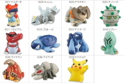 Pokemon Kids Keldeo Set Bandai