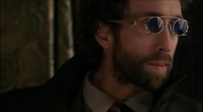 Mr. Birch Steven McCarthy Defiance pilot screencaps mystery man plot glasses sunglasses shades