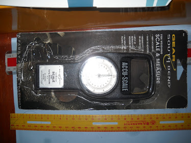 South Bend Fish Scale Mesuaring Tape (2 in 1) NEW RM79