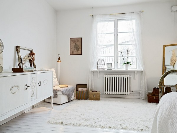 House white nordic style beautiful architecture the for Mobilier shabby chic