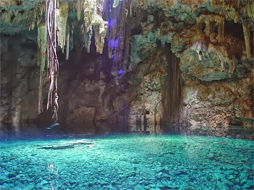 Yukatan Lake at Yukatan cave, Mexico