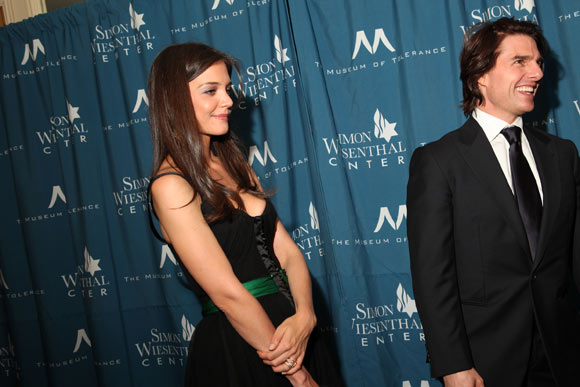 katie holmes and tom cruise 2011. Tom Cruise is a major donor to