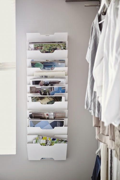 Deco home como organizar tus revistas - Como ordenar la casa ...