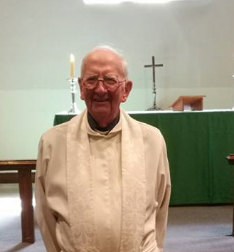 Sermon by Canon Derek Russell on 60th anniversary of his priesting