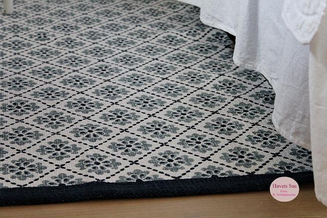 Havets sus: nyt greengate sengetæppe, puder og gulvtæpper