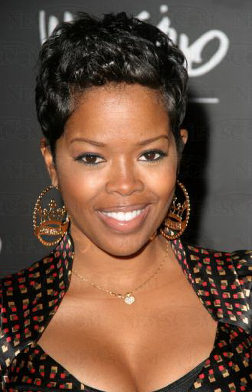 Trendy for short hairstyles short hairstyles for black women - Coupe courte black ...
