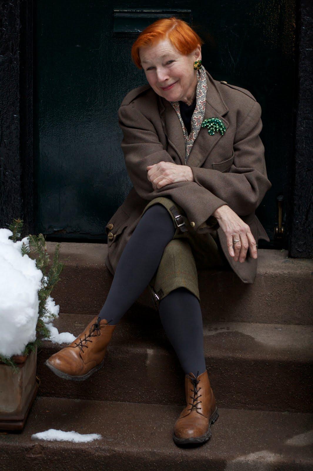 Мода для женщин элегантного возраста 27 фотография