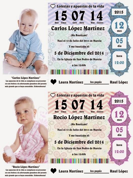 Tutorial Photoshop Español - Invitación Bautizo décimo de Lotería ...