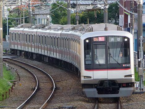 東急東横線 急行 渋谷行き 5050系