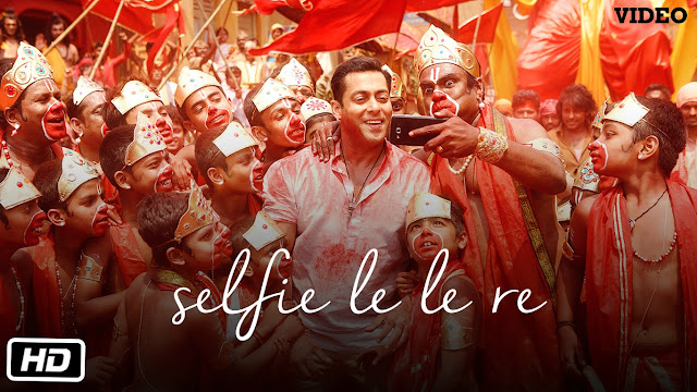 Selfie Le Le Re  VIDEO Song Salman Khan - Bajrangi Bhaijaan