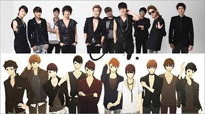 Vaniez Blog: Gambar Super Junior Kalau Jadi Kartun