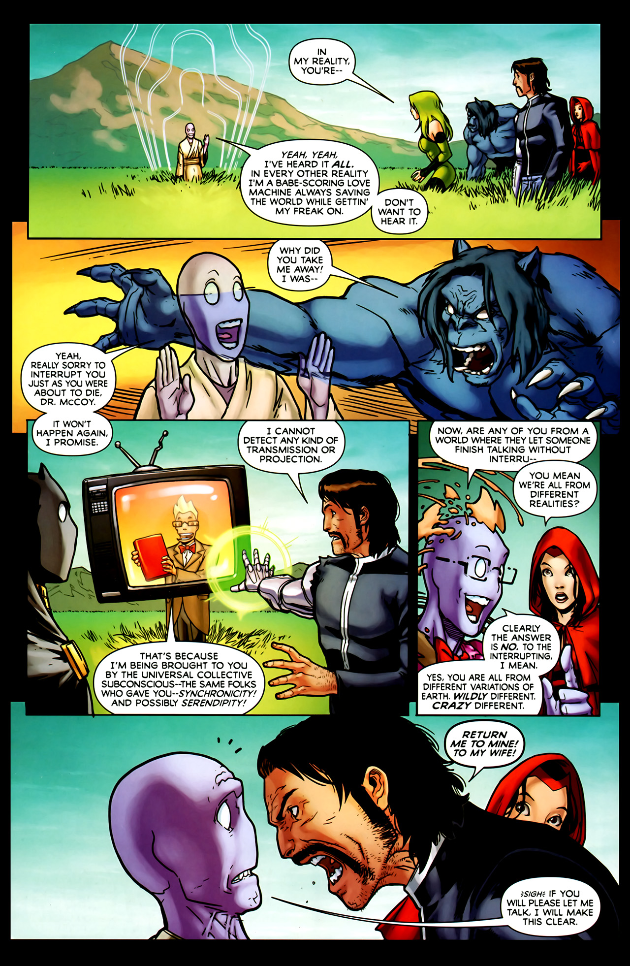 Read online Exiles (2009) comic -  Issue #1 - 16