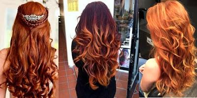 cabelos pumpkin spice