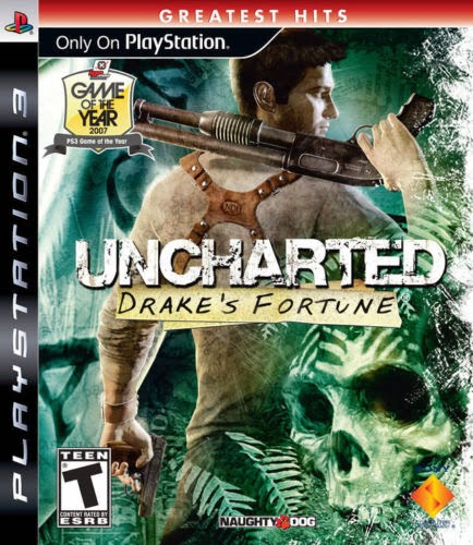 UNCHARTED 1 DRAKE'S (DRAKES) FORTUNE PS3 BRAND NEW SEALED