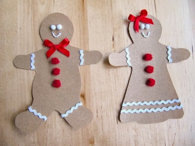 sandpaper gingerbread man