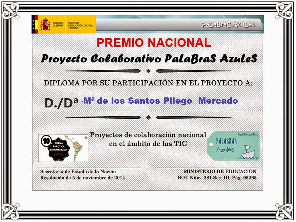 PREMIO NACIONAL DE EDUCACIÓN 2014