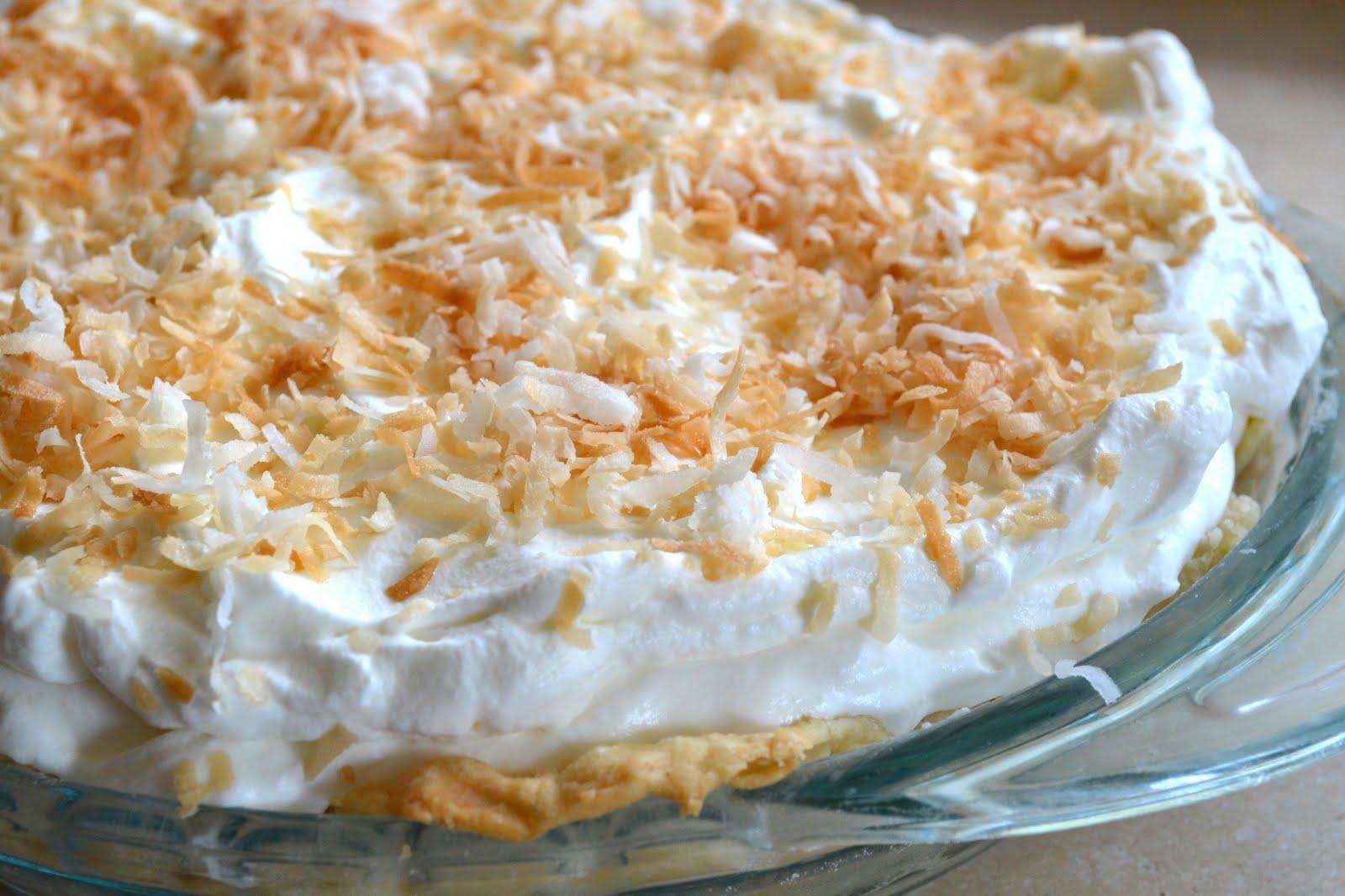 This Calls for a Treat: Coconut Cream Pie