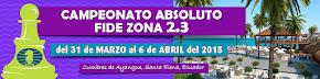 Ecuador: Campeonato FIDE Zonal Absoluto Zona 2.3 (Clic a la imagen)