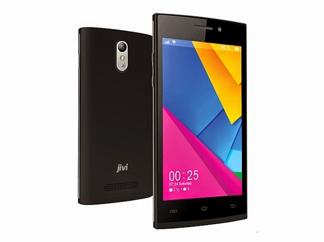 Android Kitkat (4.5 inch/3G/Wifi) Phone for Rs. 4100 $66 (Jivi JSP 47)